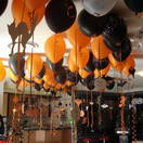 Imagine giant spiders crawling down from your ceiling, surrounded by flying ghosts, bats and creep skeletons. ABC Balloons has a huge range of ideas to create that scary and spooky Halloween occasion.